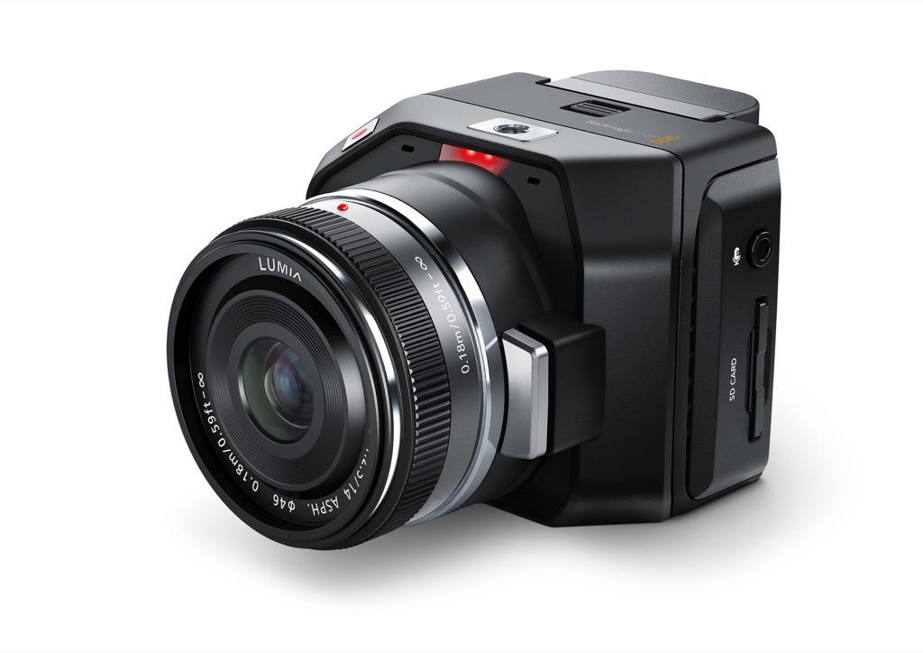 Blackmagic Micro Cinema Camera The world's smallest digital film camera with innovative remote control